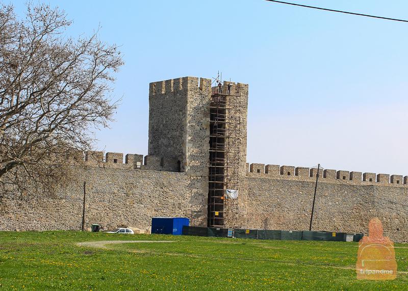 Реконструкция Смедеревской крепости