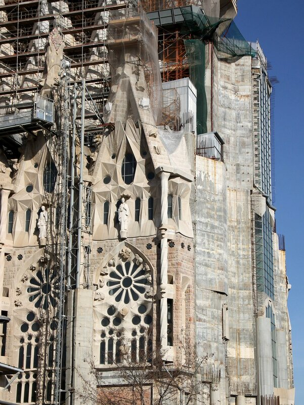 Sagrada Família. The Glory Façade