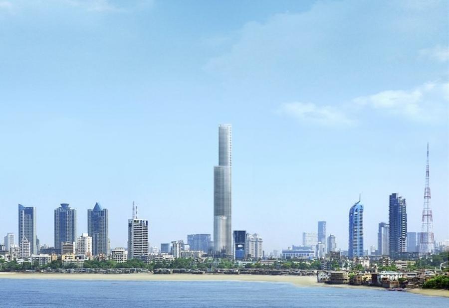 5. World One Этот 117-этажный небоскреб в Мумбае станет самым высоким жилым домом на планете. 300 ро
