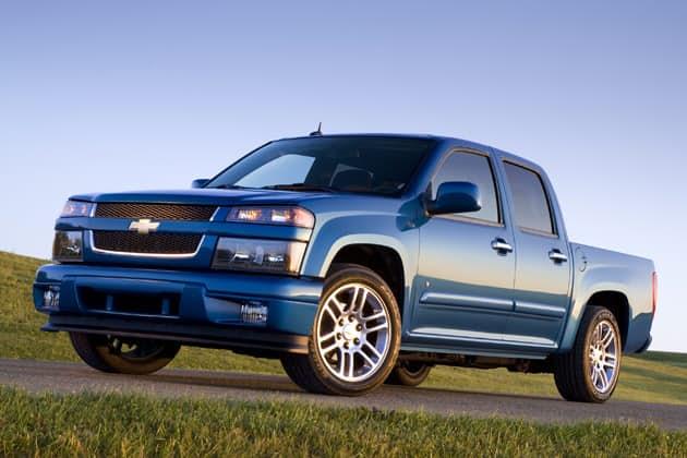 Chevrolet Colorado. Компактный пикап вышедший в 2004 году. Как и у предыдущих по списку машин, пикап