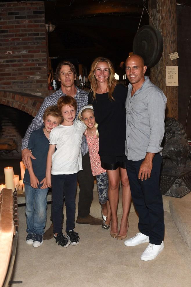Джулия Робертс и Дэнни Модер У актрисы есть близнецы Хэйзел и Финнеус, которым по 12 лет, а также 9-