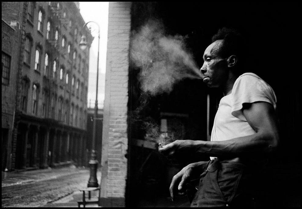 Нью-Йорк, 1955 год.