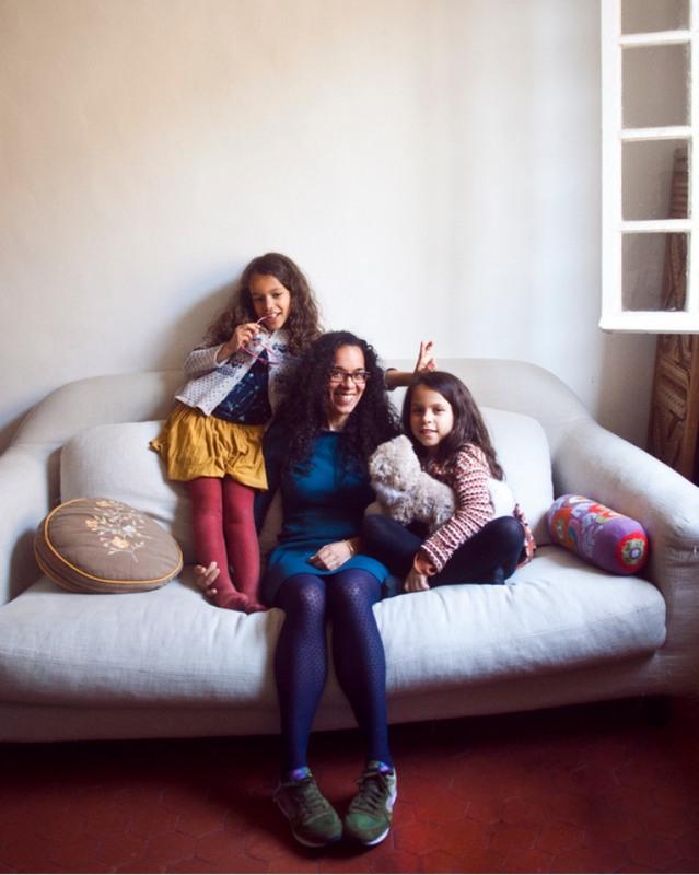 20 Лиз и ее дочки Роуз и Селеста. Ницца, Франция