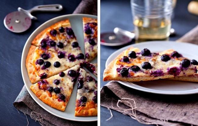 Вам понадобится: 1пласт готового теста для пиццы 120г мягкого творожного сыра (наподобие Almette)