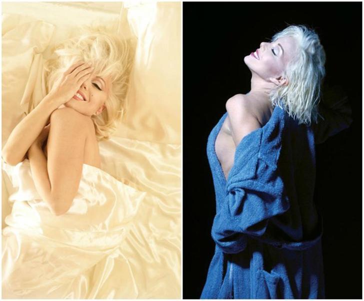 Санни Томпсон — актриса, играющая главную роль в шоу «Мэрилин: блондинка навсегда» (Marilyn: Forever