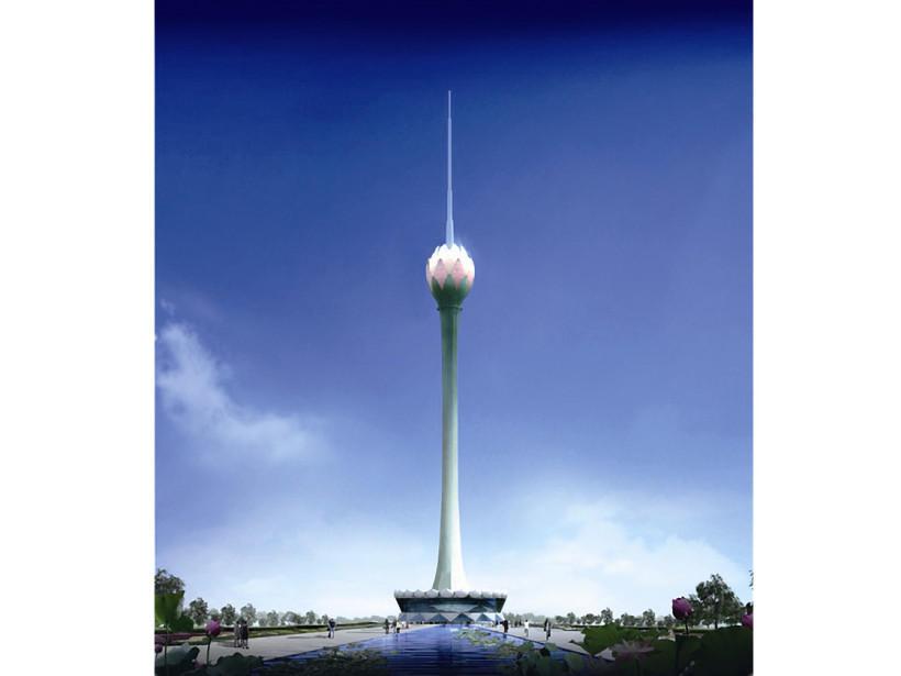 10. Colombo Lotus Tower в Коломбо, Шри-Ланка Строящееся здание, открытие которого запланировано на 2