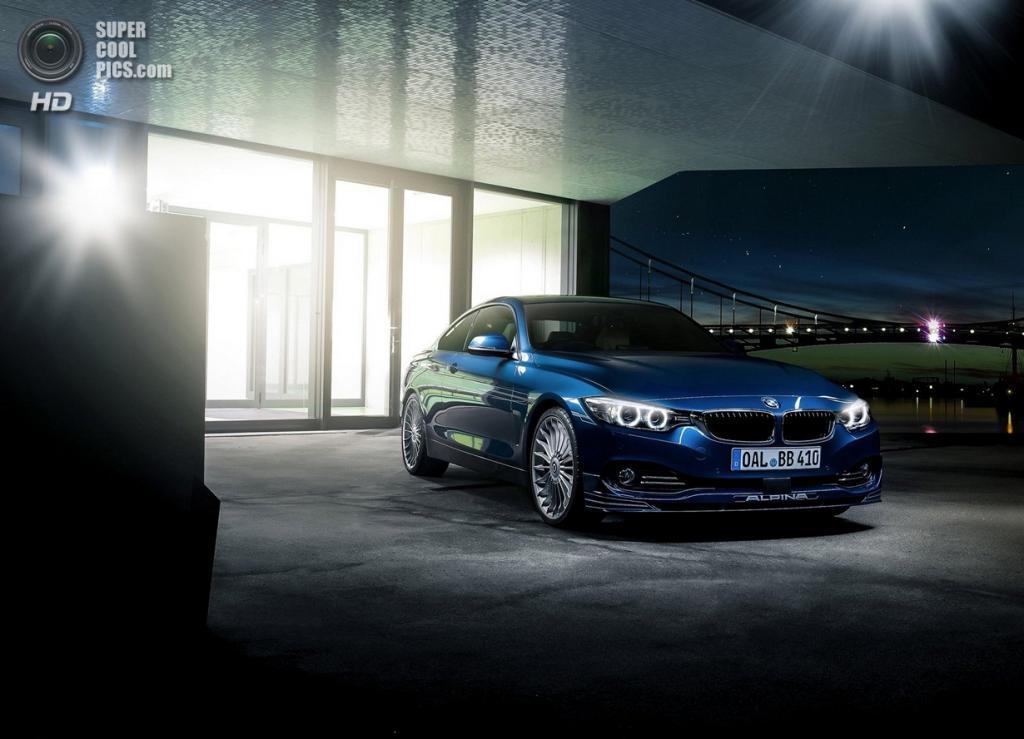 Alpina представила новое купе B4 Bi-Turbo (12 фото)