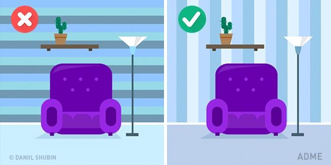 Известно, что темные обои сильно уменьшают помещение вразмерах. Ностоит также помнить ито, что го