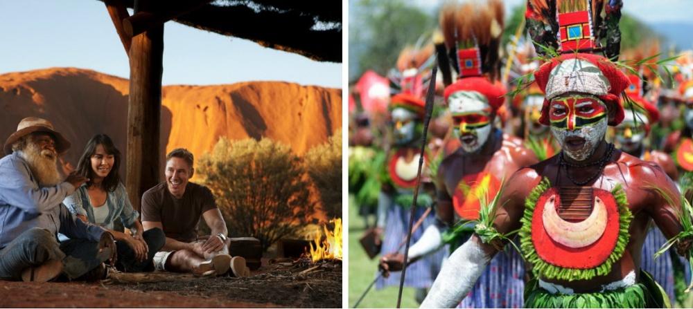 Аборигены Австралии— древние народы континента, которые сохранили свой этнос. Встране насчитываетс
