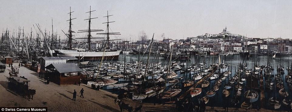 Старый порт, Марсель, Франция.