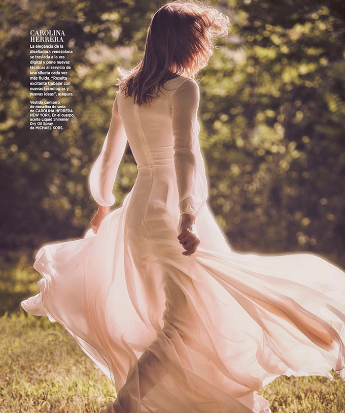 Кармен Педару для Harper's Bazaar Spain