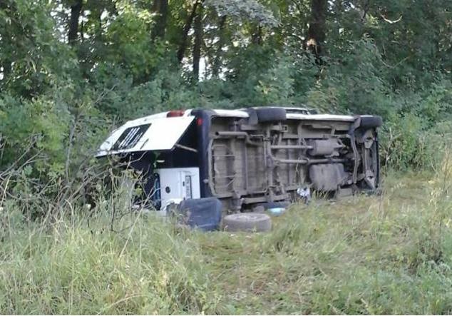 ВДТП савтобусом вХмельницкой области пострадали 5 паломников