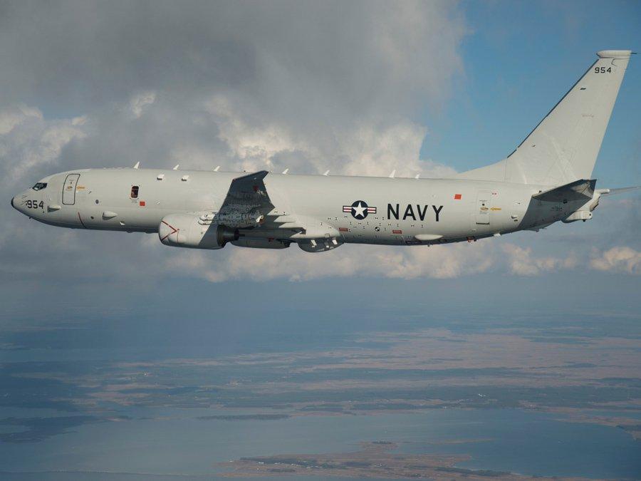 Военные самолеты США провели разведку у русских границ наБалтике