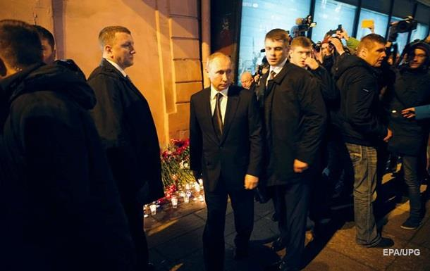 Обыск вквартире подозреваемого втеракте ничего недал— Петербург
