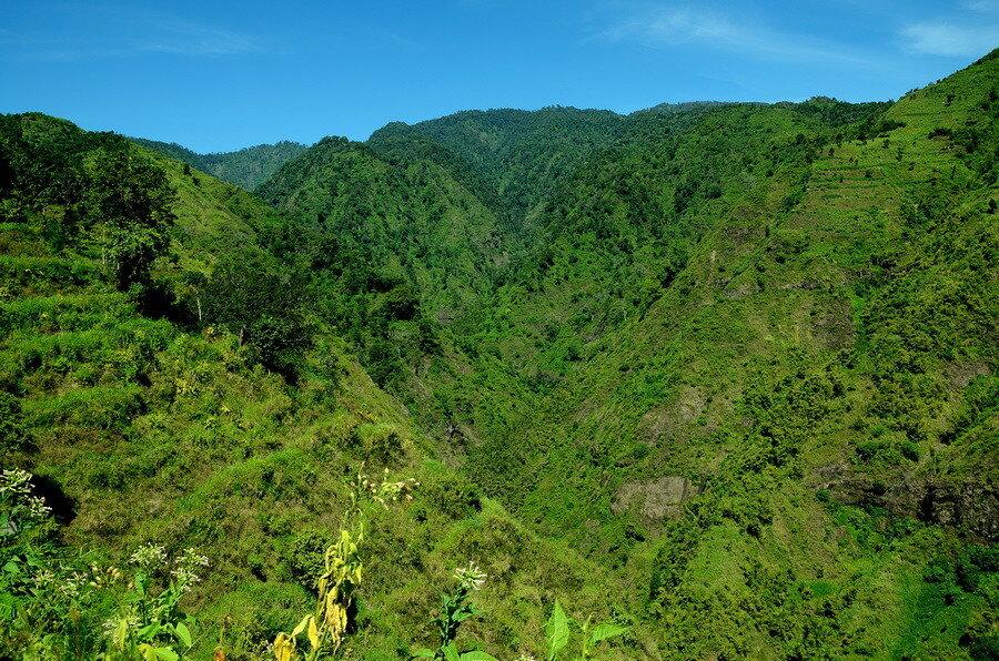 Вид на долину Бадеран
