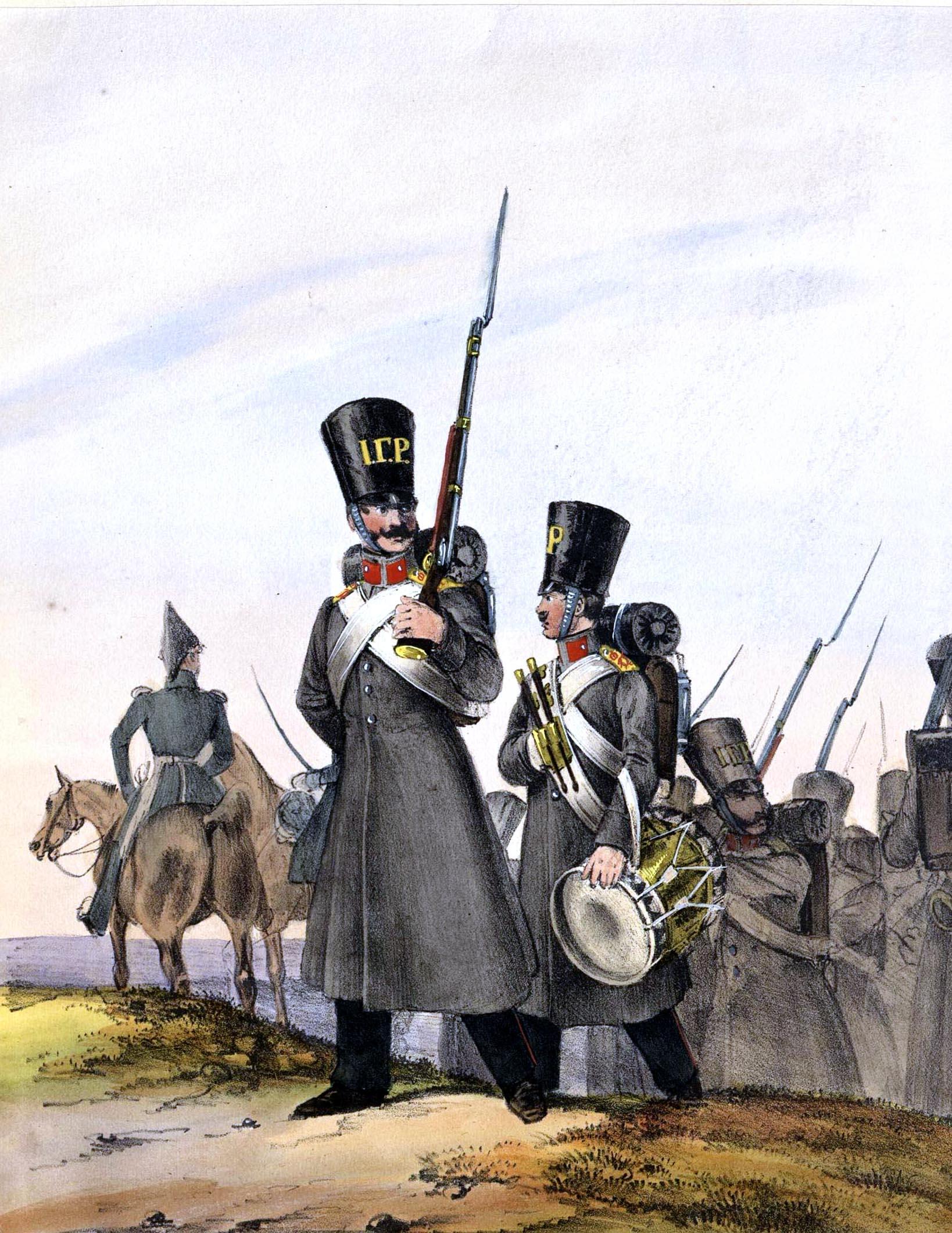 023. Kaiserthum Russland Garde-Grenadier-Regiment König von Preußen/ Российская империя