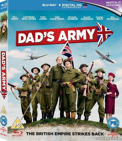 Папашина армия / Dad's Army (2016/BDRip/HDRip)