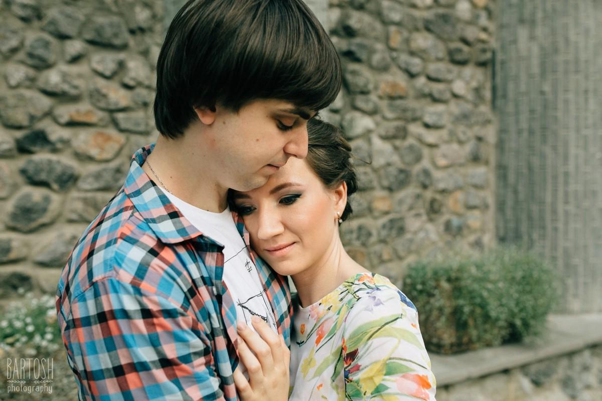 Оксана и Евгений - предсвадебная фотосъемка в Киеве