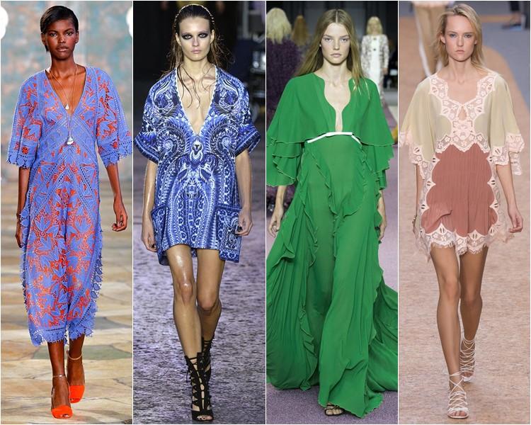 летние платья туники 2016