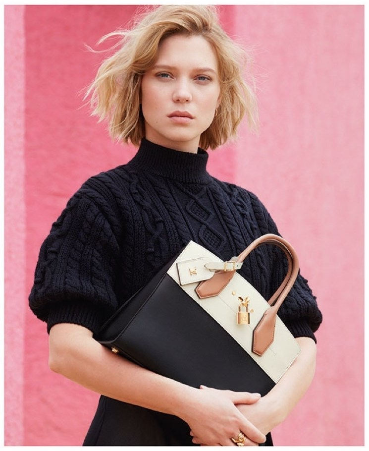 Lea Seydoux for Louis Vuitton Ad Campaign 5