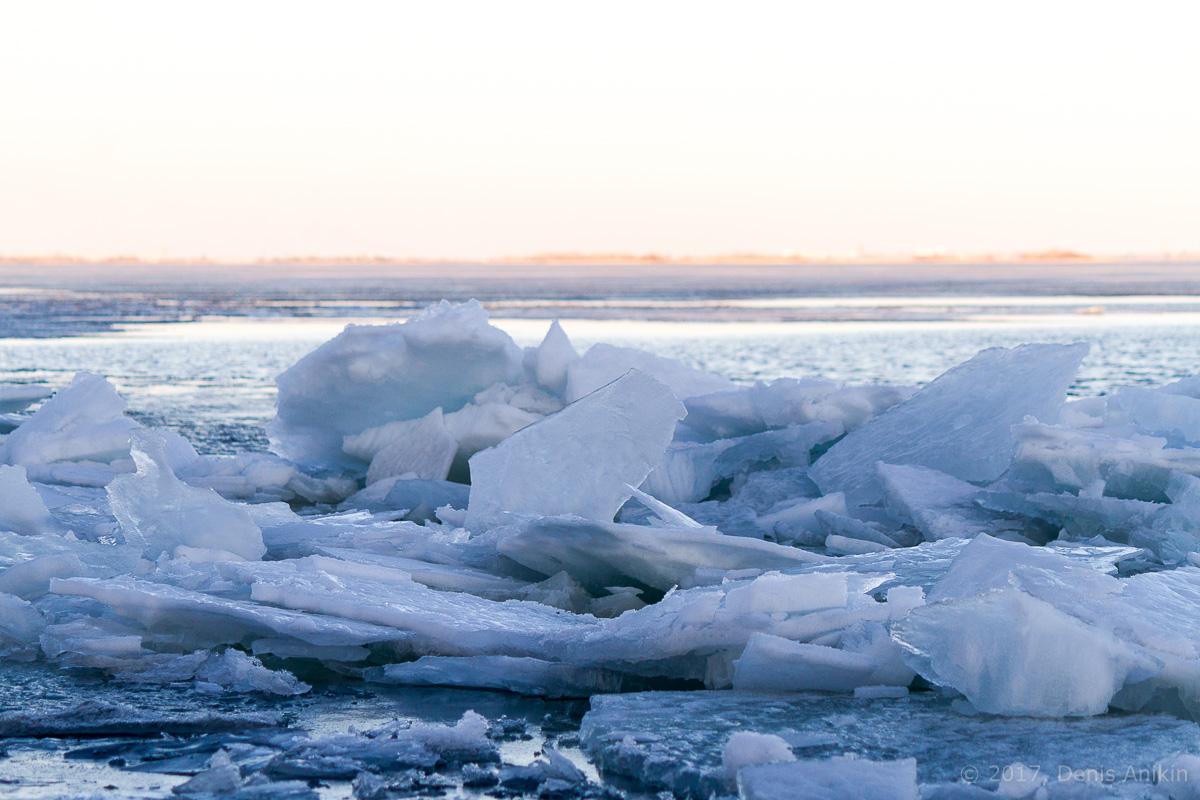 Волга весна лёд фото 11