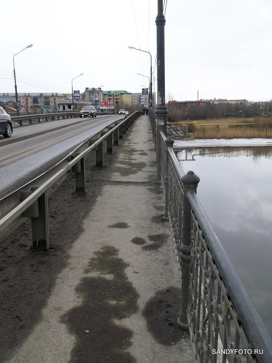 На реке Увельке осел лёд