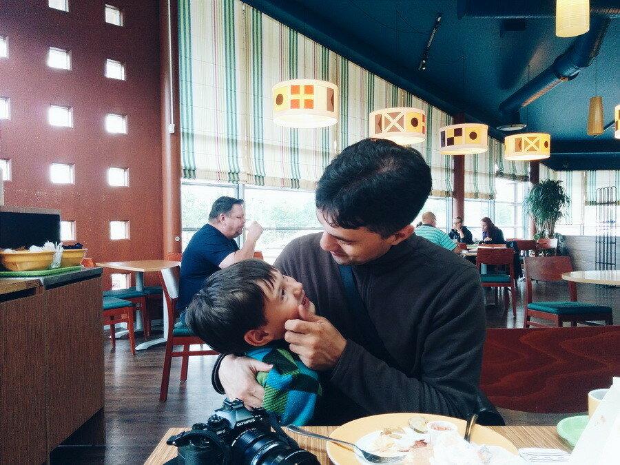 Паром Finnlines с детьми