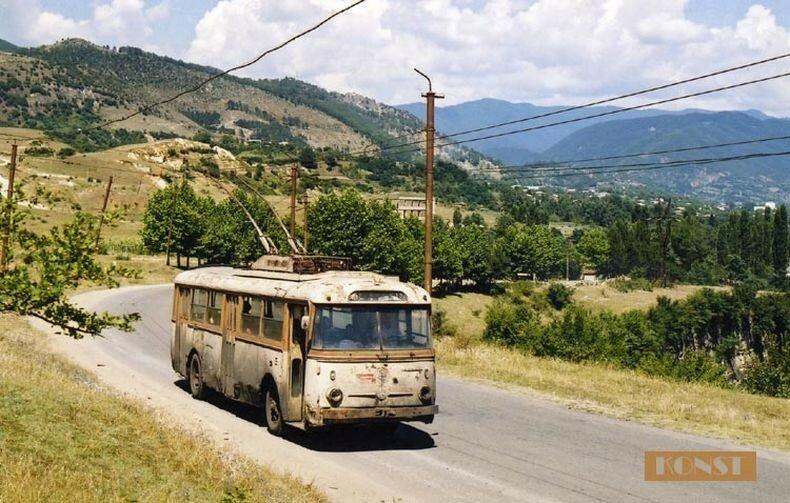 Ялтинский троллейбус.