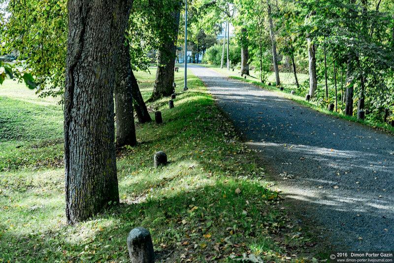 Латвия. Усадьба Гауйена