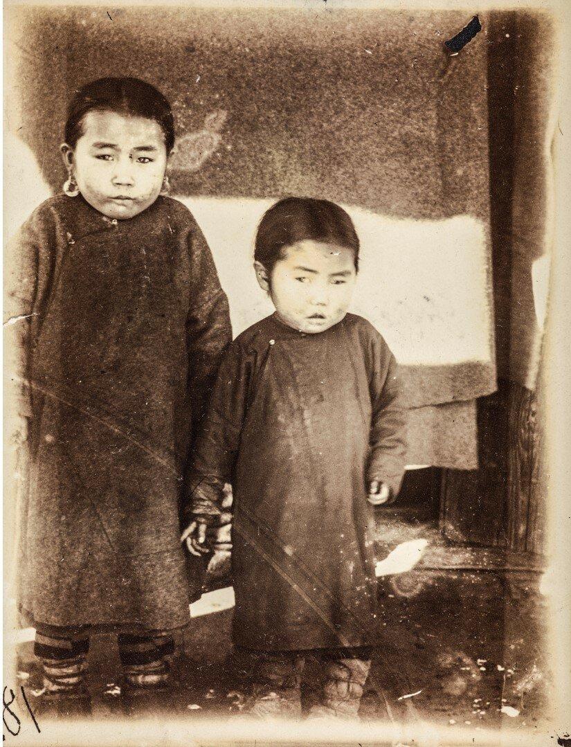 Дети нивхов