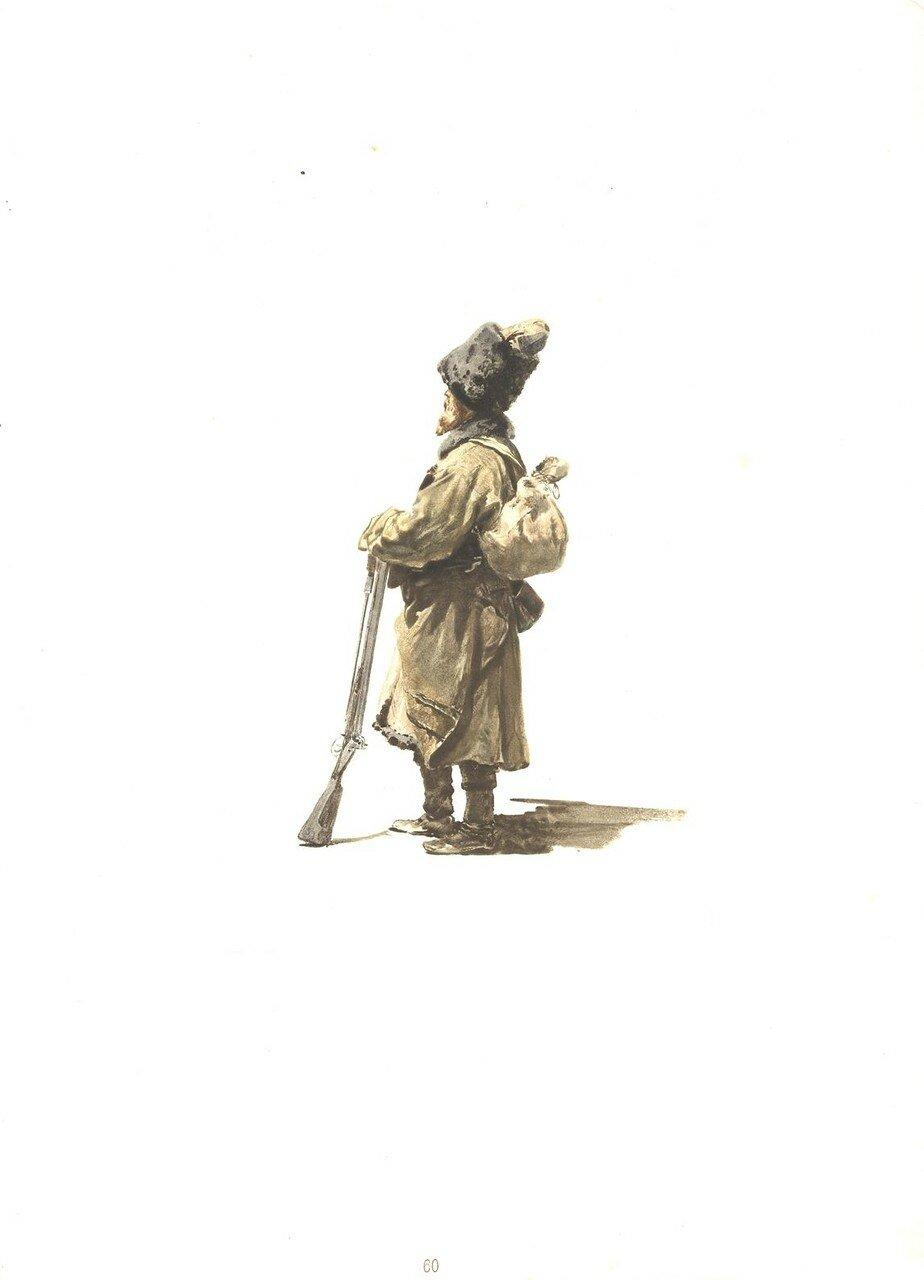 60. Охотник Кабардинского полка