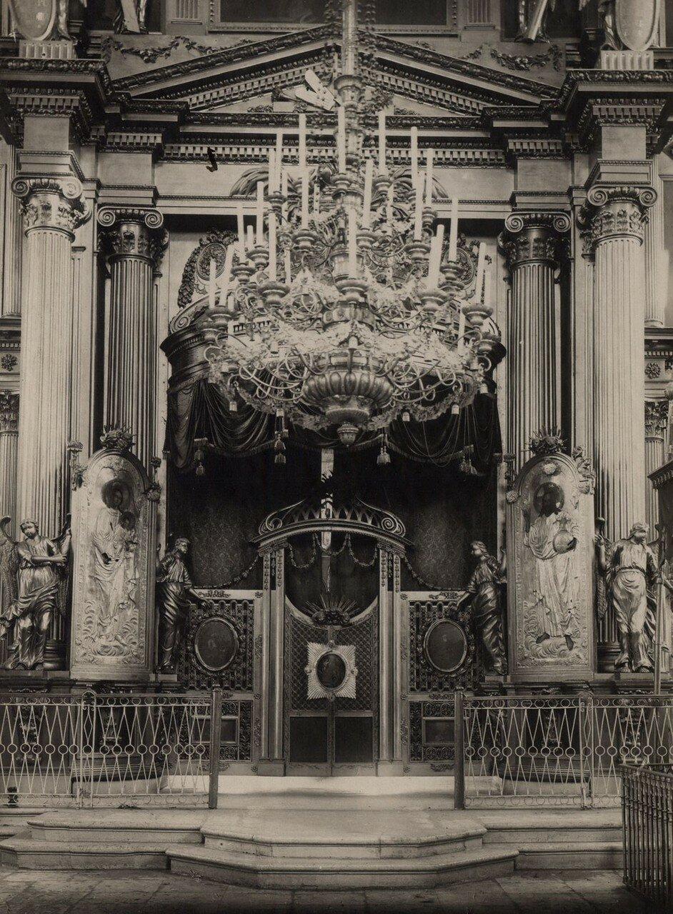 Центральная часть иконостаса