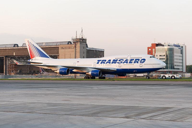 Boeing 747-412 (EI-XLK) Трансаэро DSC_0301