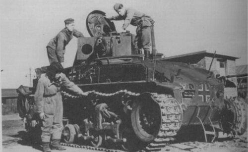 ������������� ���������� �������� �������� ���� Pz 35(t) (LT vz.35) �������� ������������ �� ������� 6-� �������� ������� ��������. ����������� ������ �������� (��������� ���). ����� ������: ���� 1941