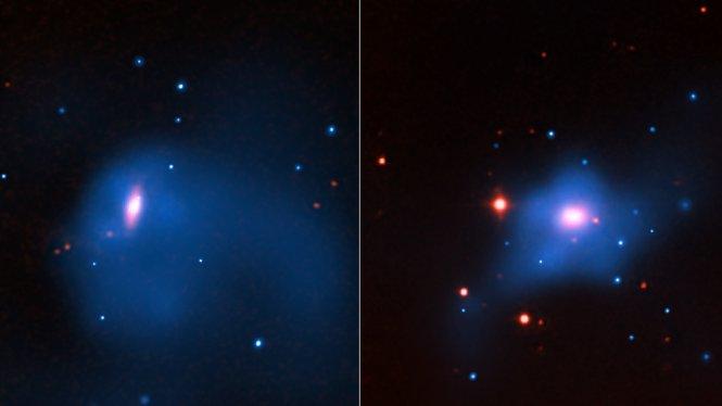 Развитие сверхмассивных черных дыр связано с темной материей