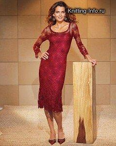 Красное платье. Кто нибудь пробовал? Наши воплощения