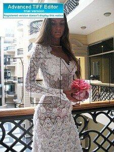 Маленькое белое платье по мотивам модели Любы Сергеевой Наши воплощения