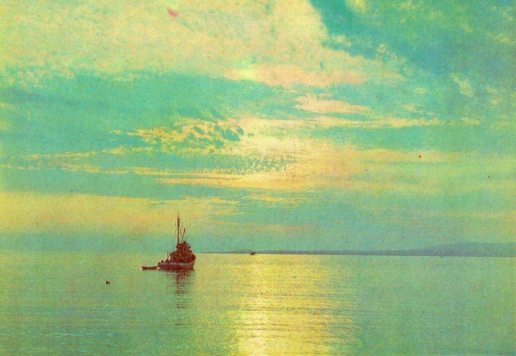 Вечер на море. 1978 г.