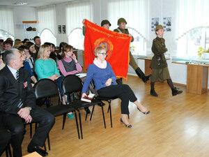 Открытие выставки «Окопная правда», часть 2. 27.02.2015г.