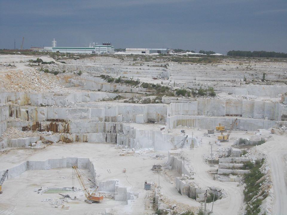 Самый большой мраморный карьер в России (13.07.2015)