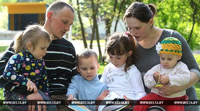 Семья витебчан Анны и Сергея Савченко