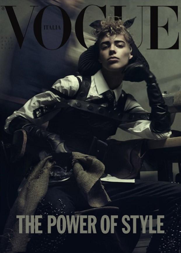 Лекси Болинг (Lexi Boling) в журнале Vogue Italia (2 фото)