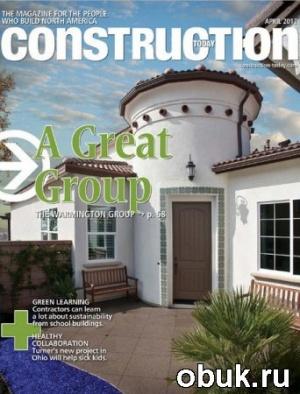 Книга Construction Today - April 2012