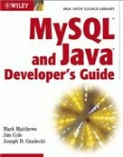 Книга MySQL and Java Developer's Guide