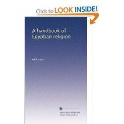 Книга A handbook of Egyptian religion