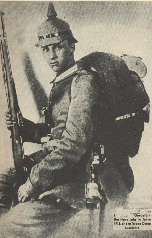 Hans Leip, 1915