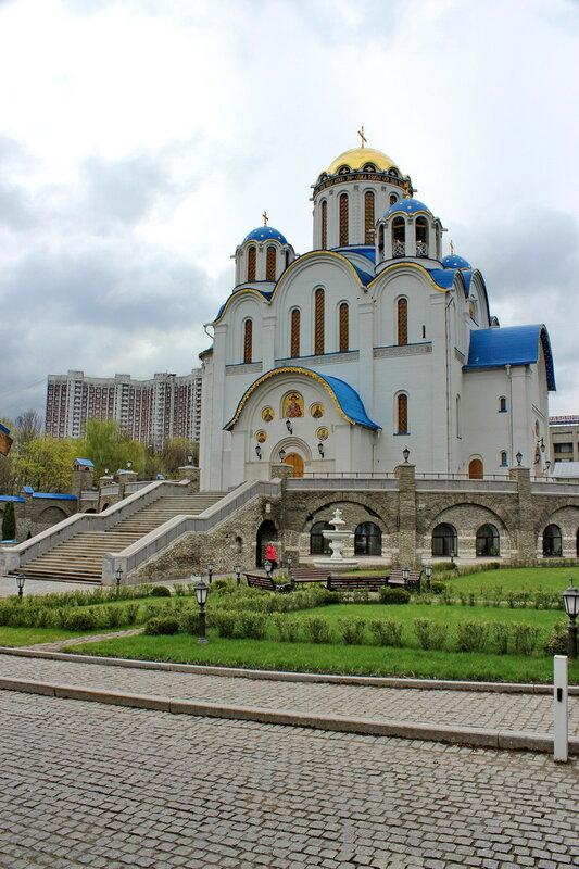 Церковь Покрова в Ясенево