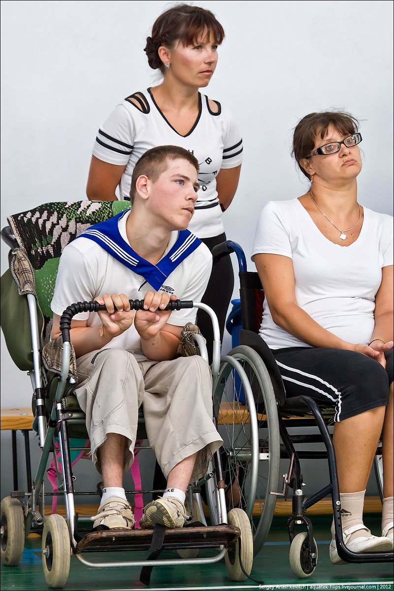 Кубок по бочча для инвалидов