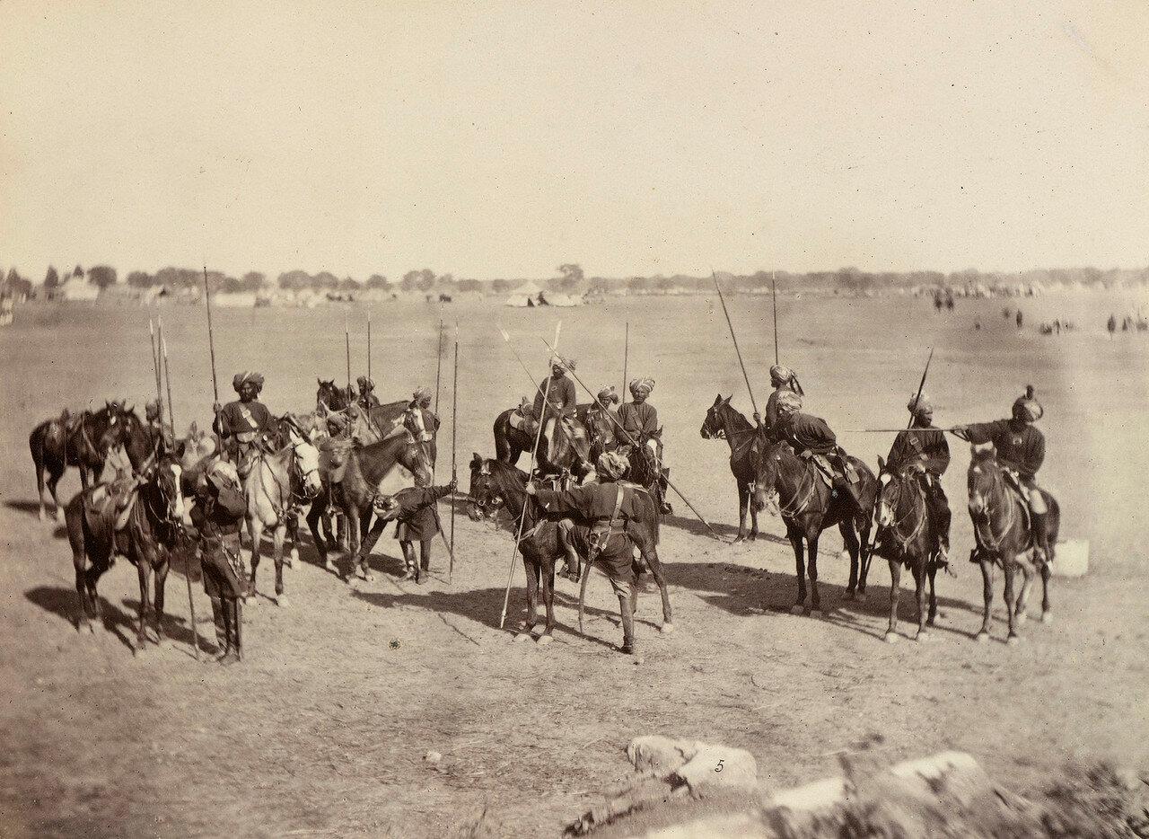 36. 11-й Королевский уланский полк (Конный полк Пробина)