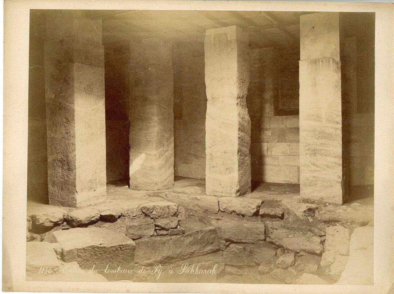 Саккара. Вход в Гробницу. 1880-е